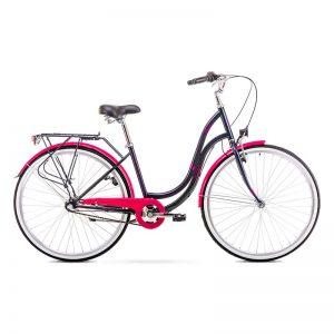 BIC19 ROMET ANGEL 28 3 black-pink