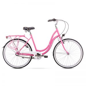 BIC19 ROMET ANGEL 26 3 pink-white